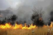 آتش در کمین جنگلها و مراتع آذربایجان غربی | تجهیزات پاسخگو نیست