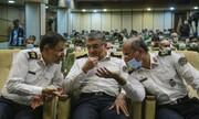 ۳ سردار و رئیس پلیس راهور تهران در یک قاب