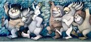 تصاویر | اسباببازیهای خالق سفر به سرزمین وحشیها | ماکتهای متحرک قصههای پریان