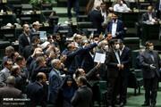 این تصاویر عجیب مجلس را ببینید | صدا و سیما به جای مچگیری در مترو و خیابان سراغ نمایندگان برود