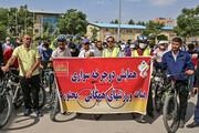 تصویر | همایش دوچرخهسواری در بجنورد