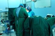 پیوند انگشتان دست کارگر رستوران در بیمارستان فرقانی