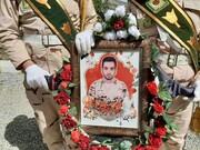 پیکر مرزبان شهید علیخلیلی در بانه تشییع شد