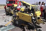 تصادف ۲ تاکسی ۱۰ کشته و مصدوم بر جا گذاشت
