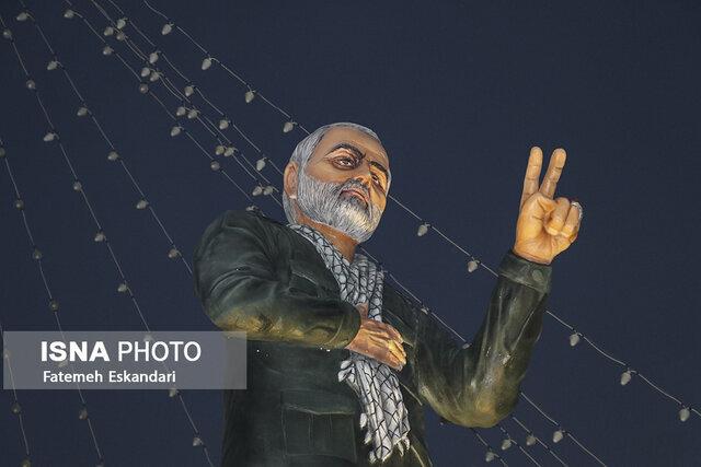 تنديس سردار سليماني