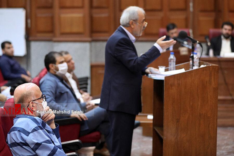 تصاویر چهارمین جلسه رسیدگی به اتهامات اکبر طبری