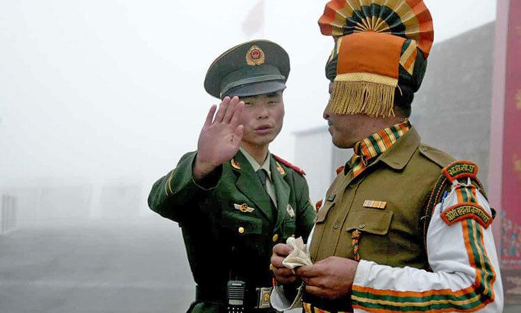 نيروهاي مرزي چين و هند