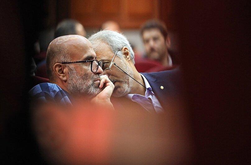 تصاویر چهارمین جلسه دادگاه طبری