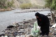 پاکسازی رودخانه دامن ایرانشهر