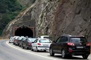 ترافیک در جادههای شمال | موج پایانی سفرهای تابستانی به راه افتاد
