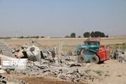 ۱۰ مورد ساخت و ساز غیرمجاز در اراضی کشاورزی قرچک تخریب شد