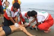 نجات ۱۴۰ نفر در سواحل مازندران