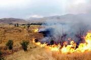۱۱۶ مورد آتشسوزی در مزارع پیشوا در یکماه |بیشتر آتشسوزیها عمدی بود
