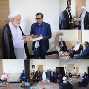 دیدار عصرانه مدیران فرهنگی شهر باحجت الاسلام قرائتی