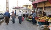 اجرای طرح آزادسازی حریم پیادهرو و رفع سد معبر در سقز