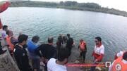 کشف پیکر جوان ۲۹ ساله غرق شده در سد الخلج بستان آباد