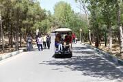 چیتگـرگـردی با خودروی برقی