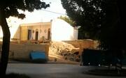 حفظ بقایای حمام بهشتی در ایستگاه مترو محله خلجای اصفهان