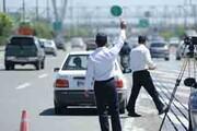 نظارت جدی پلیس راهور منطقه یک با خودروهای دودزا