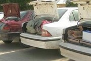 کشف محموله قاچاق از ۷ دستگاه خودرو شوتی