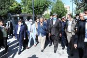 افتتاح پهنه رودکی با حضور شهردار تهران