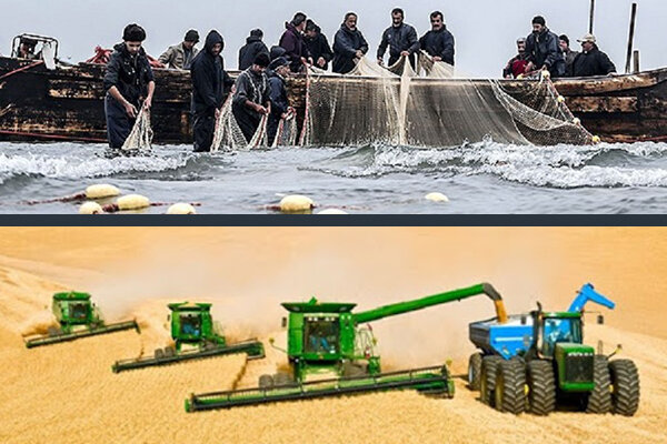 صیادی کشاورزی