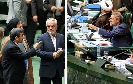 احمدی نژاد لاریجانی