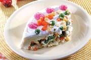 طرز تهیه کیک سیبزمینی و سبزیجات | با سبزیجات هم میتوان کیک هیجانانگیز درست کرد!