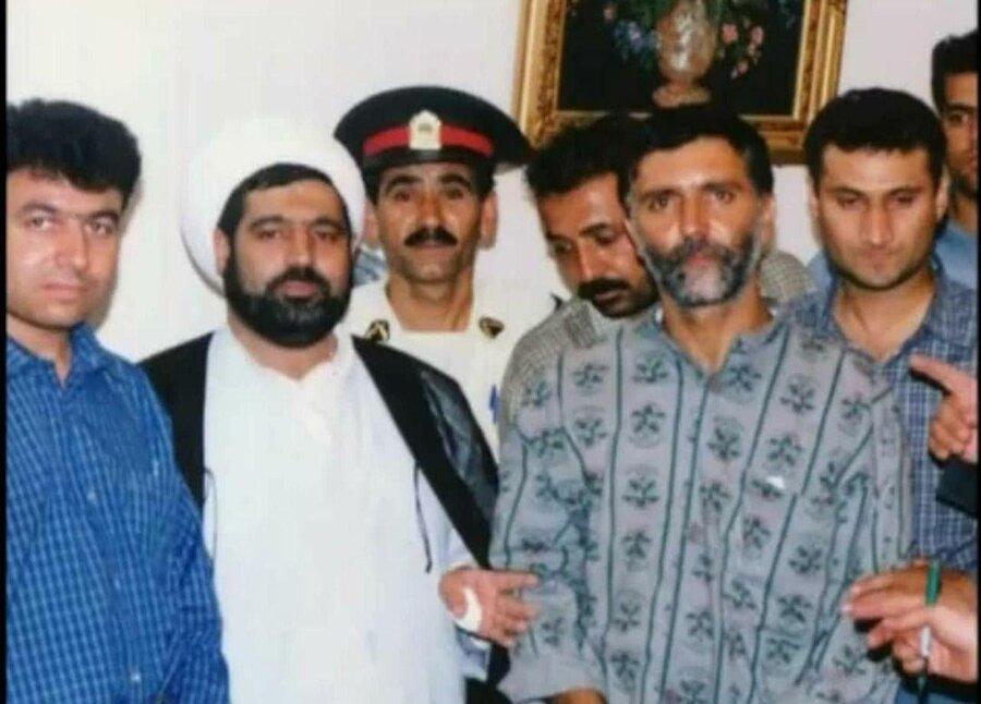 قاضی منصوری و سعید حنایی