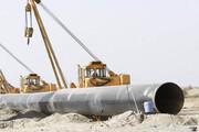 عملیات ساخت خط لوله انتقال نفت خام گوره به جاسک کلید خورد