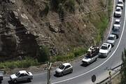 برقراری محدودیتهای جدید ترافیکی در محور کرج - چالوس