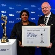 عکس |  لحظه شیرین میزبانی استرالیا در جام جهانی زنان ۲۰۲۳