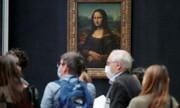 چراغ موزه لوور پاریس روشن میشود