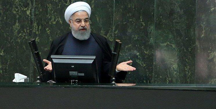 روحاني در مجلس