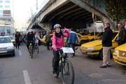ناامنی دوچرخهسواری در خیابانهای تبریز