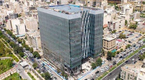 ساختمان جديد سازمان بورس
