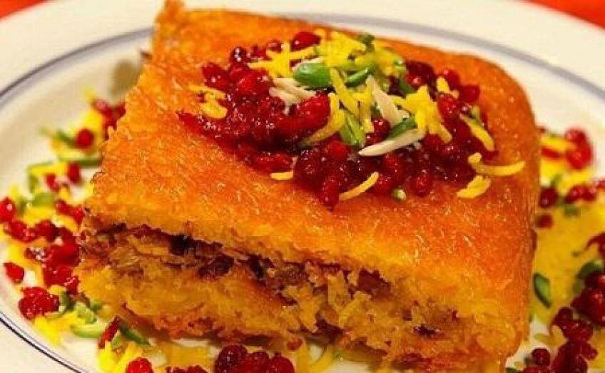 طرز تهیه تهچین مرغ و بادمجان | غذای ایرانی جذاب که مخصوص شیراز است