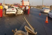 مرگ ۳ نفر در جاده مشگینشهر - پارسآباد در یک روز