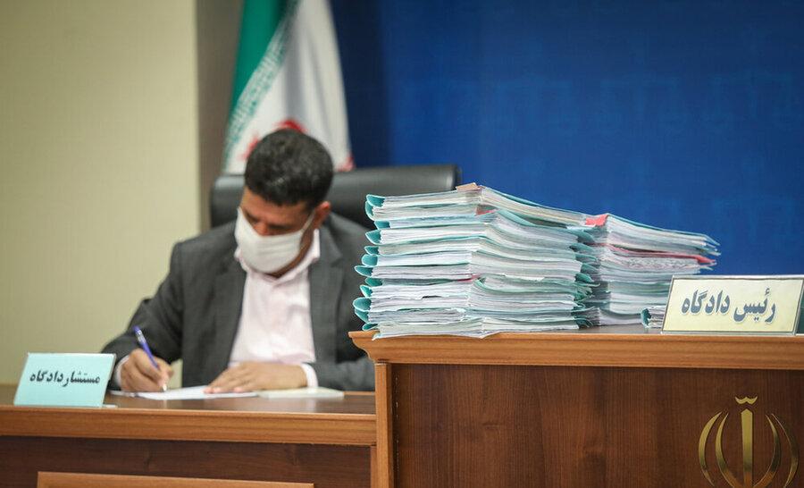 تصاویر دادگاه عباس ایروانی و گروه عظام