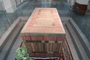 قدیمیترین صندوقپوش مرقد امام رضا(ع) در مشهد رونمایی شد
