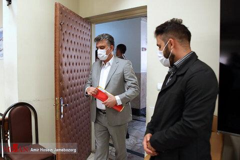 تصاویر سومین دادگاه عباس ایروانی و سایر متهمان گروه عظام