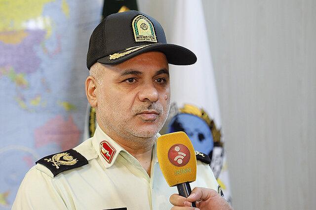 سردار کاظم مجتبایی جانشین رئیس پلیس بین الملل ناجا