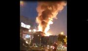 فیلم | نمای دیگر از لحظه انفجار کلینیک سینا اطهر