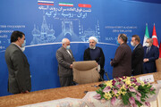 تصاویر | اجلاس مجازی روحانی، پوتین و اردوغان | متن و حاشیه نشست سران کشورهای روند آستانه