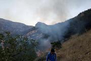 """مهار آتشسوزی جنگلهای """"شلالدون"""" باشت"""