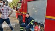 آتشسوزی در بیمارستان حضرت رسول در شهرآرا