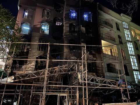 بازداشت ۹ زن و مرد در ارتباط با انفجار کلینیک سینا اطهر | ۴ فرضیه مطرح در علت آتشسوزی