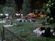دورهمی شبانه مردم جنوبشرق تهران با وجود خطر کرونا