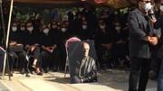 تصاویر خاکسپاری و تدفین سیروس گرجستانی