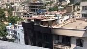 فیلم | در حادثه انفجار کلینیک سینا امکان فرار از پشت بام وجود داشت؟